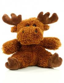 Soft Plush Moose Caro