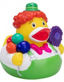 Quietsche-Ente Clown