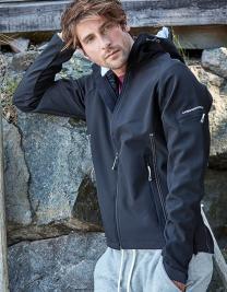 Hooded Performance Softshell Jacket