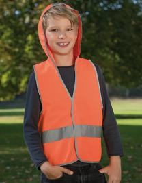 Kid´s Hooded Safety Vest EN 1150